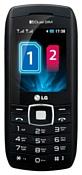 На 2 SIM-карты LG GX300 черный в отличном состоянии