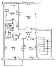 3-комнатная квартира по ул. В.Гастинец,  90