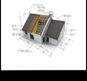 Проект дома,  смета на строительство.Дизайн помещения.