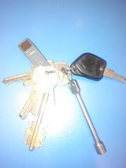 Найдены ключи.
