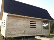 Строим Дома,  сруб из бруса Елена 6×6 в Молодечно